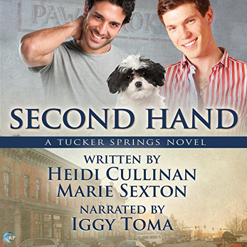 Second Hand audiobook cover art