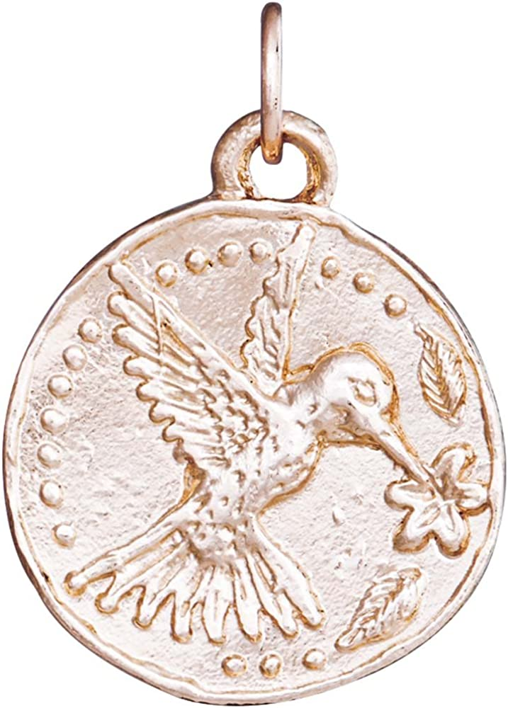 Helen lowest price Ficalora Hummingbird Some reservation Charm Coin
