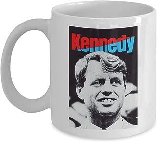 Robert F Kennedy 1968 Campaign Poster Design - Ceramic Coffee Mug
