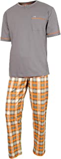e.VIP Men's Pyjama Set Luke 327 100% Cotton