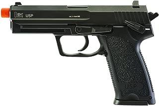 Elite Force HK Heckler & Koch USP 6mm BB Pistol Airsoft Gun, Blowback Action, Black