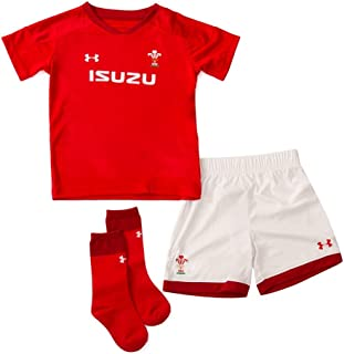 Under Armour 2018-2019 Wales Rugby Home WRU Infant Kit (Red)
