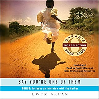 Say You're One of Them audiobook cover art