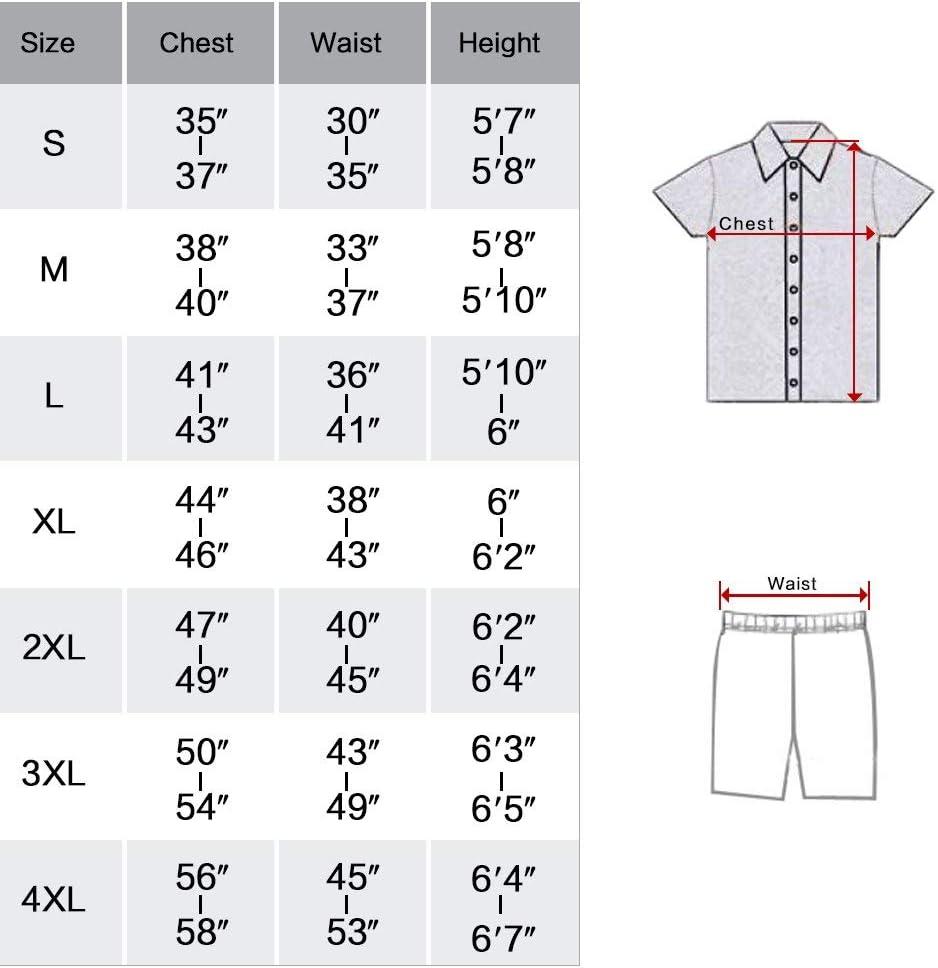 INSTO Pyjama Satin Soie Hommes Ensemble de Nuit Loungewear Homewear,Blanc,S