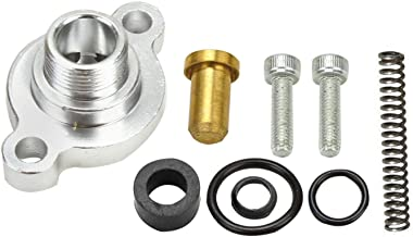 ay-autoparts Upgrade Fuel Pressure Regulator Billet Valve Cap Spring Kit Fit for 1999-2003 Ford F550 F450 F350 F250 E350 E450 E550 7.3L Powerstroke Diesel
