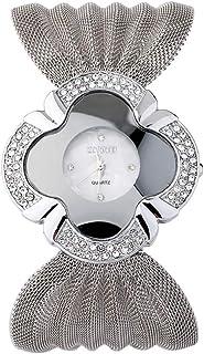 Women Unique Petal Shape Bracelet Watch,Girls Designer Wrist Watches for Party Gifts