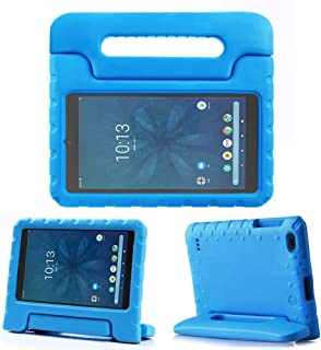 """REGOKI Onn 8"""" Case, Lightweight Handle Stand Kids Cover Compatible with Walmart Onn 8inch Android Tablet (Model ONA19TB002) 2019 Released (Blue)"""
