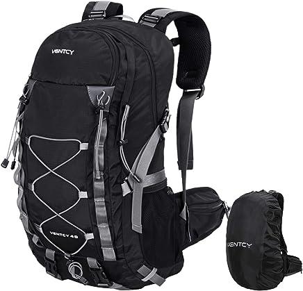 571ead93b6 VENTCY 40L Sac à Dos Randonnée Sac Trekking Femme Homme College Ordinateur  Voyage Impermeable Trekking Camping