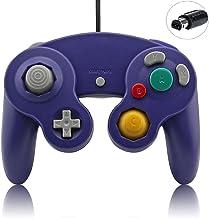 Indigo Purple Gamecube Controller Classic Wired for Nintendo Gamecube Wii