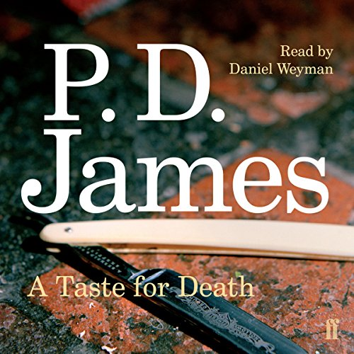 A Taste for Death cover art