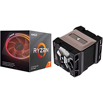 Amazon Com Amd Ryzen 7 3700x 8 Core 16 Thread Unlocked Desktop Processor With Wraith Prism Led Cooler With Corsair A500 High Performance Dual Fan Cpu Cooler Ct 9010003 Ww Computers Accessories