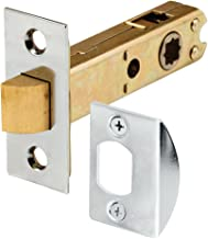 Defender Security E 2440 Passage Door Latch, 9/32 in. & 5/16 in. Square Drive, Steel, Chrome Finish