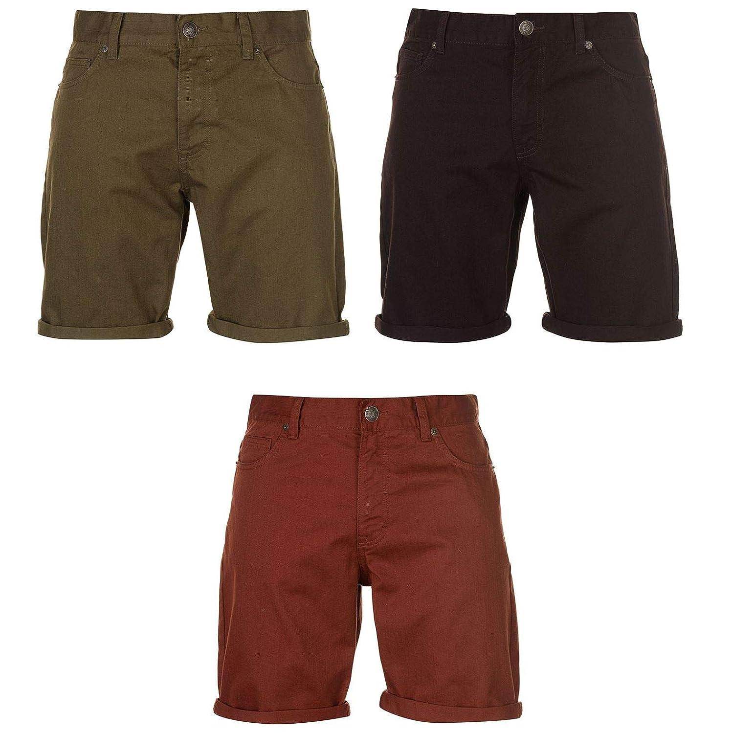 Pierre Cardin Coloured Denim Shorts Mens Bottoms Short Pants Summerwear