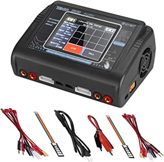 ZHITING Lipo Cargador de batería Pantalla táctil Descargador de Doble Balance Duo AC150W DC240W 10A T240 1-6S RC Li-Ion Li...