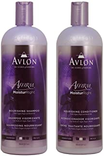 "Avlon Affirm Moisture Right Nourishing Shampoo + Conditioner 32oz Duo""Set"""