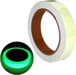 ARTGEAR Glow in The Dark self-Adhesive Tape, Green Light Safe Luminous Tape Sticker, 32.8 ft x 0.8 inch (10m x 2cm): Waterproof, Removable, Durable, Wearable, Stable, Safety