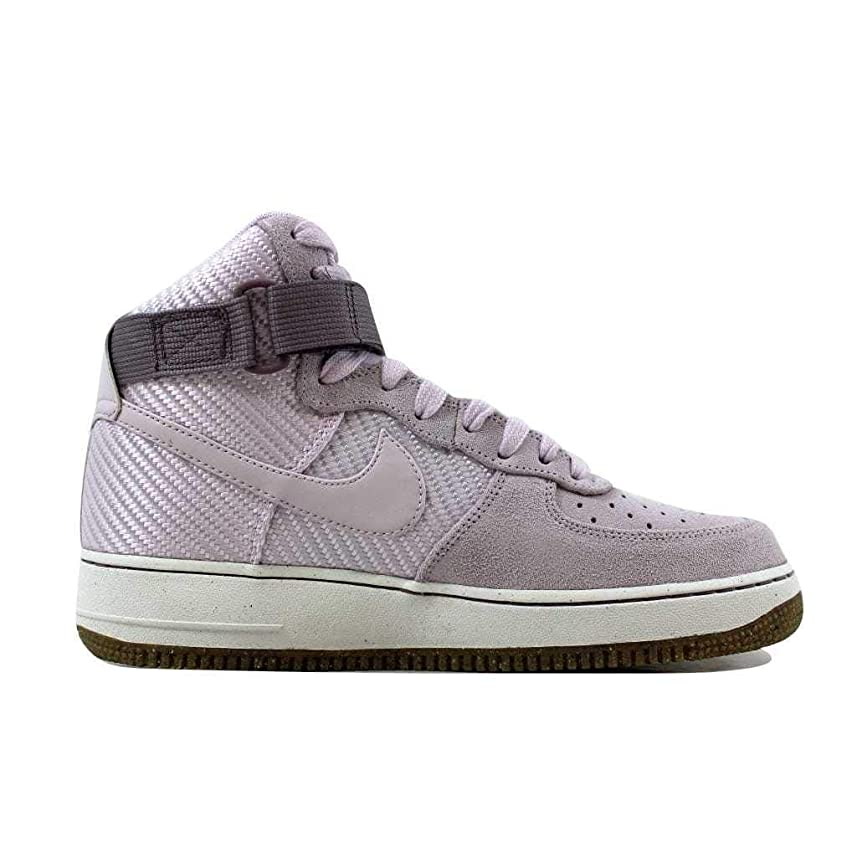 球状のみ天文学[ナイキ] エアフォース1 Air Force 1 レディース Hi Premium QS Bleached Lilac White 654440-500