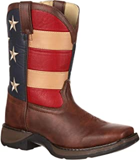BT245 Lil 8 Inch Patriotic Pull-On Boot