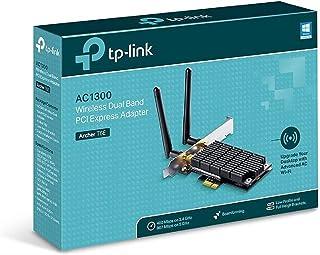 AC1300 Dual Band Wireless PCI Express Adapter Broadcom 2T2R 867Mbps at 5Ghz + 400Mbps at 2.4Ghz 802.11ac/a/b/g/n 2 Detacha...