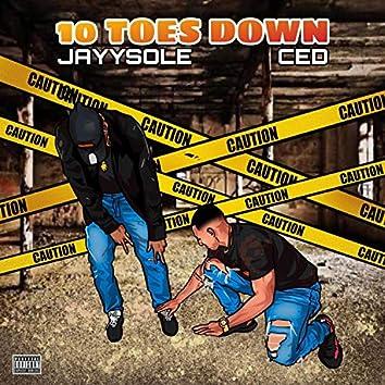 10toesdown (feat. Jayysole)