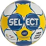 Select Ballon de Handball Ultimate EC pour Femme 2 Blanc - Bleu/Jaune/Blanc