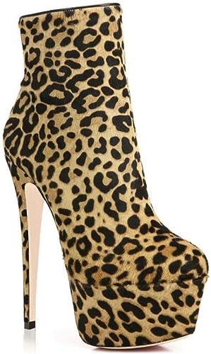 L@YC Jauges Femme Bottes Lèvres Bottes Femme Chaussures à Talons Chaussures Bottes & Soirées