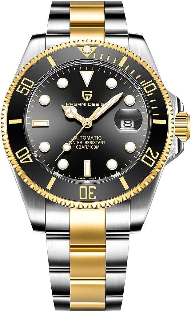Mens 毎週更新 Luxury Watches Ceramic Bezel Automa Luminous 最新号掲載アイテム Sapphire Glass