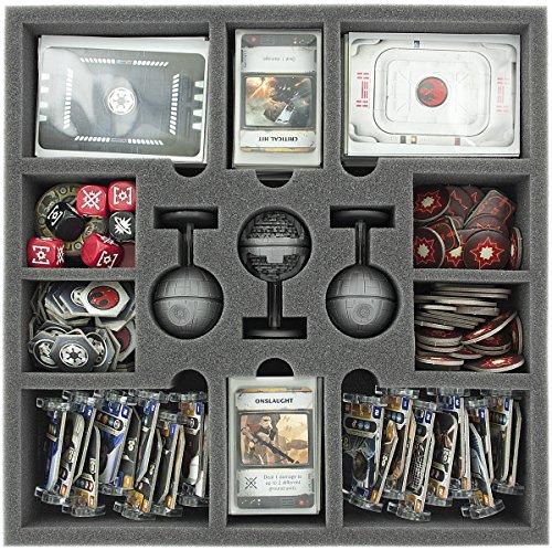 Feldherr AF050RE03 50 mm Foam Tray for Star Wars Rebellion Board Game Box with 13 Slots