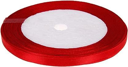 Cerise rose 6mm de ruban satin simple face mariage ruban artisanat garniture