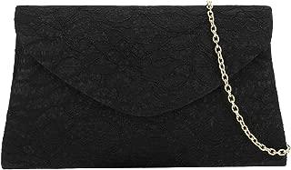 Classic Lace Clutch Purse Formal Handbag Evening Bag for Prom/Wedding