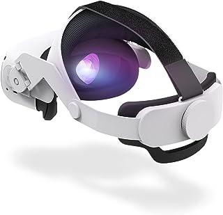 Oculus Quest 2 Head Strap - Oculus Quest 2 Elite Strap Replacement - Oculus Quest 2 Accessories Head Strap - Advanced Supp...