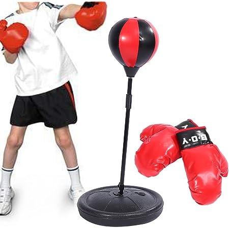 Boxsack Verstellbar Standboxsack Standboxball Punching Ball Boxen Training Sport