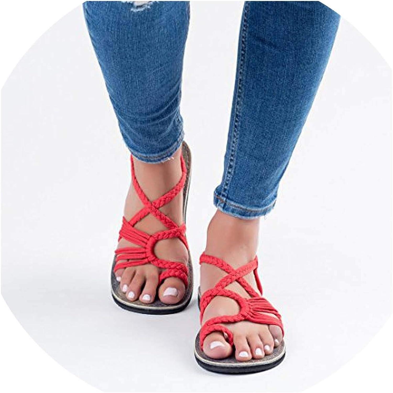 HuangKang 2019 Sandals Women Summer Flip Flops Sandals Women shoes