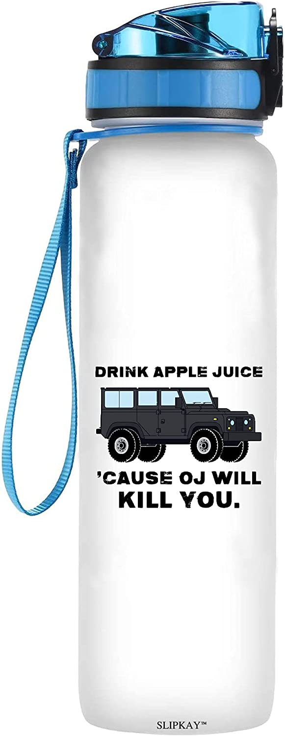 Drink Apple Max 41% OFF Juice Water Bottle Tracker High material