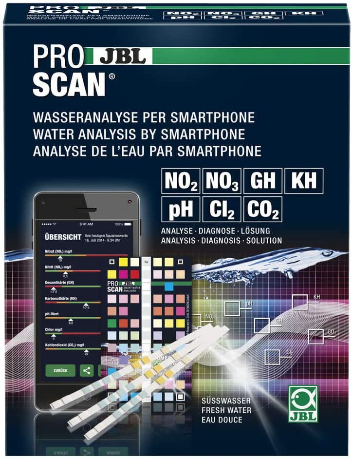 JBL ProScan Water Analysis by Smartphone-The New Generation 24 Test, 1 Unidad (Paquete de 1)