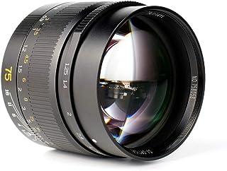 7artisans 75mm F1.25 Full Frame Manual Lente Fija para cámaras sin Espejo Leica M-Mount Cámaras Leica M-M M240 M3 M6 M7 M8 M9 M9p M10