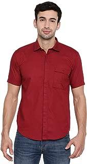 Chennis Black Short Sleeve Slim Fit Shirt