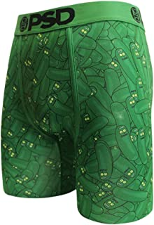 PSD Underwear Men's H - Rick and Morty Pickles Boxer Briefs