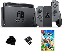 $479 » Sponsored Ad - Nintendo Switch Exclusive Mario Bundle | Includes: Nintendo Switch with Gray Joy‑Con, Mario + Rabbids Kingd...
