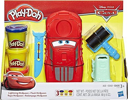 Play-Doh- Disney Pixar Cars Rayo Mcqueen - Juego de moldes (Hasbro C1043EU40)