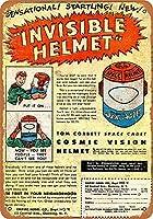 1954年スペースカデットインビジブルスペースヘルメットコレクタブルウォールアート