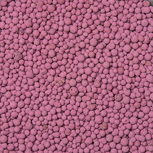 brockytony 4-8 mm. (Pflanzton, Pflanzgranulat, Blähton) 10 Liter. PINK. BT413Y0