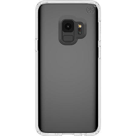 Speck Presidio Clear Samsung Galaxy S9 Case, Clear/Clear