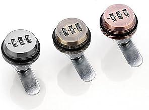 Kast deurslot 3 cijfer Combinatie Wachtwoord Box Lock 20-30mm Smart Cam Code Lock Zinklegering voor Mailbox Cabinet Deurbe...