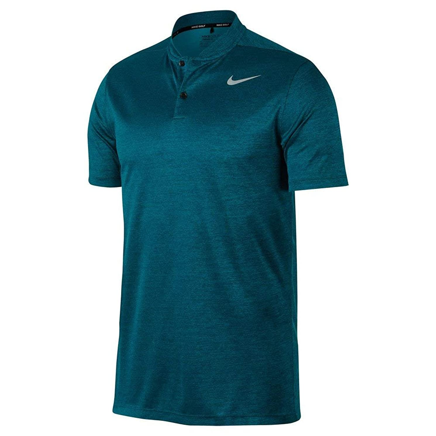 NIKE Dry Fit Heather Blade Golf Polo 2017