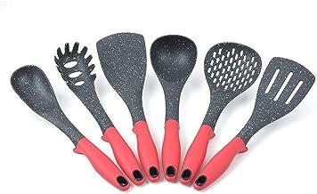Cooking Utensils 6pcs Suit Cooking Spoon Shovel Tool Kit Splicing Nylon Kitchen Utensils Food-grade Non-stick Frying Shovel