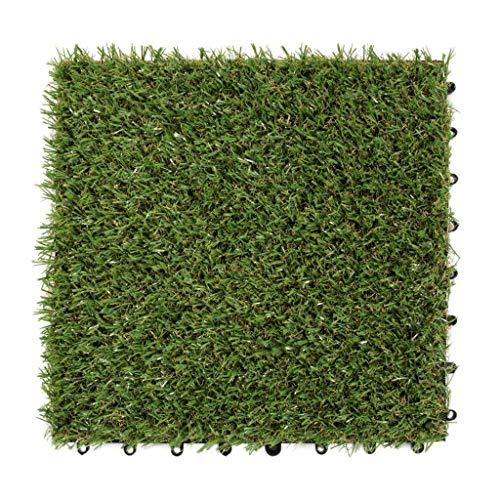 Garten Terrasse Gr/ö/ße: 200x450 cm UV-Garantie in Gr/ün Steffensmeier Kunstrasen Kunststoffrasen Park Meterware wasserdurchl/ässig f/ür Balkon