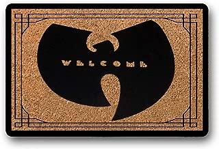 BXBCASEHOMEMAT Wu Tang Clan Floor mat Home Decor. Rap Music Floor mat. Hip hop Doormat. Custom Door mat. Welcome mat. NYC 23.6