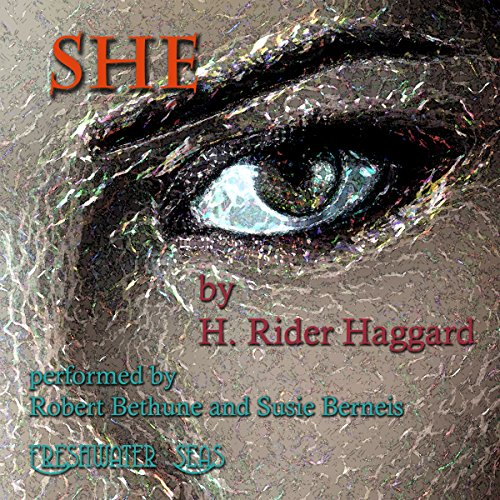 She     A History of Adventure              By:                                                                                                                                 H. Rider Haggard                               Narrated by:                                                                                                                                 Robert Bethune,                                                                                        Susie Berneis                      Length: 12 hrs     4 ratings     Overall 4.0