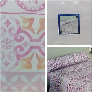 Energy Colors Textil - Hogar Juego SÁBANAS DE Verano Lisas (3 Piezas) para Cama Grande de 150 x 190/200 cm (LIQUIDACIÓN) (Rosa/Fucsia)